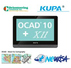 Kupa X11 GPS GIS geospatial and information technology tablet pc tabletpc OCAD Orienteering