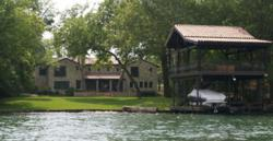 Austin REALTOR® Brian Talley represented the buyer of this 5,923 square foot custom built Lake Austin luxury waterfront home.