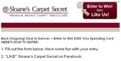 Best Ongoing Deal in Denver Facebook Contest