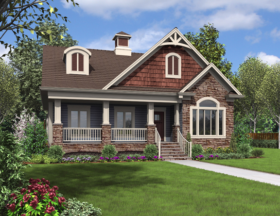 award winning evergreen cottage house plan from the house designers exclusive energy stargreen house plan collection - House Designers