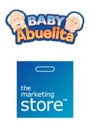 Baby Abuelita and The Marketing Store logos