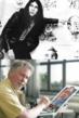 Politicards creator Peter Green in 1972 (top) and in 2012 (below)