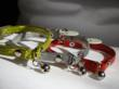 Vedante Reflective Cat Collars in Gold, Silver and Red