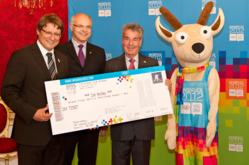 Austrian President Receives First Ticket for the inaugural Winter Youth Olympic Games in Innsbruck in 2012