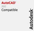 AutoCAD 2012 Compatible Logo