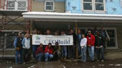 Twin Cities Habitat's 10th Annual CEO Build October 10, 2011