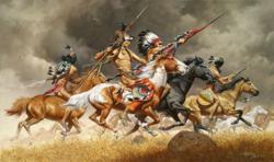 Thunder Across the Plains - Frank McCarthy - World-Wide-Art.com