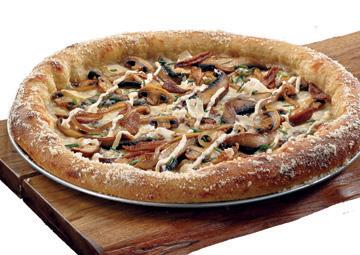 Mushroom - Tuscaloosa, AL, United States. Holy Shiitake Mushroom Pizza ...