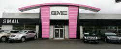 Smail GMC Goes Pink in support of National Breast Cancer Awareness Month