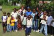 Students at the George Marcellus School in Haiti