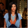 As seen on Gossip Girl. Siman Tu's turquoise glass necklace, win it and wear it from Taigan.com