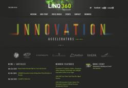 Linq360 updated web design