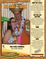 Welcome to the 'Ohana Tom and Kelly McDonald of New Castle, Delaware!