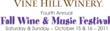 Vine Hill 2011 Wine & Music Festival Logo