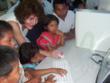 Mahnaz A. Javid with Ngobe Bugle Students in Panama