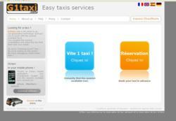 LANCEMENT DE G1TAXI.COM, LA COMPAGNIE DE TAXIS SUR SMARTPHONES ET WEB