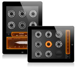 Screenshots of Loopy HD, the iPad music creation app