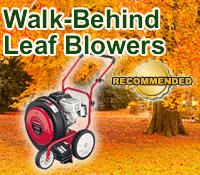 walk behind leaf blower, best walk behind leaf blower, top walk behind leaf blower, walk behind leaf blowers