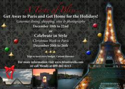 Paris Holiday Getaway custom exclusive access travel to France