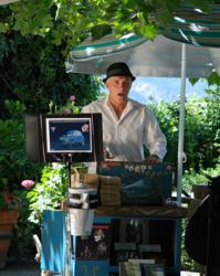 Michel Michelis, Wine Tasting, Swanson vineyards, courtyard experience, Napa events