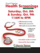 Free Health Screenings Offered in Pharmacy