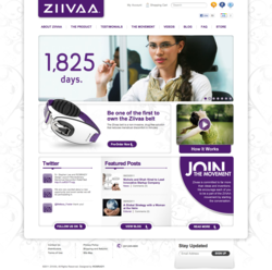 Digital Frontiers Media and ROBRADY design Launch Ziivaa.com.
