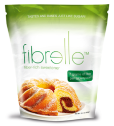 Fibrelle fiber-rich sweetener for baking