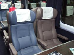 Private rail carriages offer privacy and comfortable travel