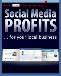 Cover of Social Media Profis guide for local businesses