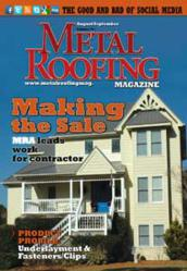 Advanced Metal Roofing Featured in Metal Roofing Magazine