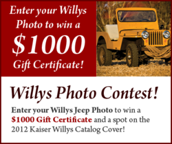 Willys Jeep Cover Photo Contest