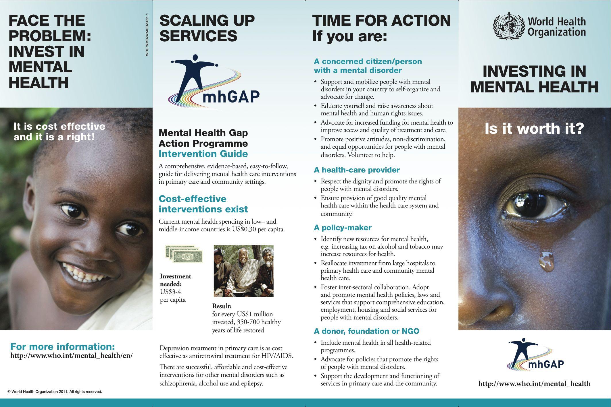 Mental health brochures method for Free mental health brochures
