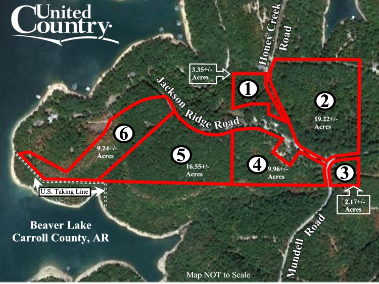 60 Acres Near Beaver Lake to Be Sold to Highest Bidder