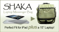 "Shaka Messenger Solution for iPad + 15"" Laptop"