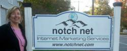 Veronica Francis at Notchnet Web Marketing Company, Littleton, NH