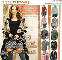 New Designer Clothing Autumn/Winter 2011 Collection