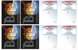 Double Thick Impact Cards from Convertible Solutions