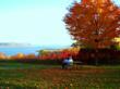 minnesota, wisconsin, bar, loon, sunset, lake, fall drive, fall foliage, packer bar, best restaurant, balsam lake