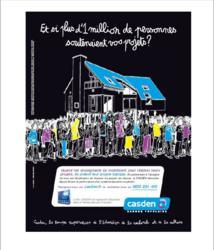 CASDEN presse campagne communication