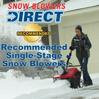 single stage snow blweor, single stage snowblower, consumer single stage snowblower