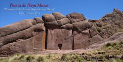 Doorway of Amaru MeruLake Titicaca, Peru