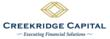 Creekridge Capital Announces New Financing Product and Expands Sales...