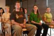 """Participants learning a powerful 21-minute yogic kriya crafted specifically to engineer one's own """"inner climate."""""""