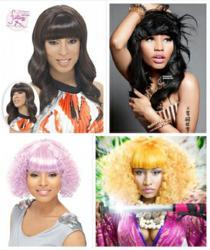 Nicki Minaj inspired wigs