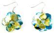 eco-friendly earrings, earrings for teens, earrings, recycled jewelry, green jewelry, eco-friendly jewelry