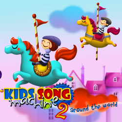 A unique, fun and widly successful sing along app for children.