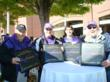 AlarmWATCH independent security dealers enjoy game day events at Ravens football game.