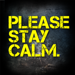Please Stay Calm logo