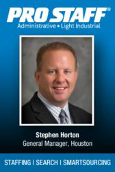 Stephen Horton, General Manager, Pro Staff - Houston