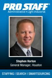 Stephen Horton, General Manager, Pro Staff - Houston